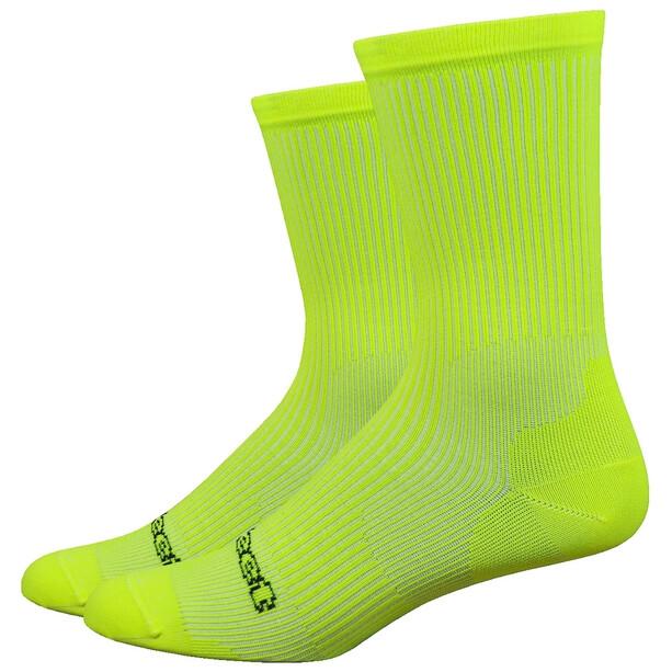 """DeFeet Evo 6"""" Socken evo classique/hi-vis yellow"""