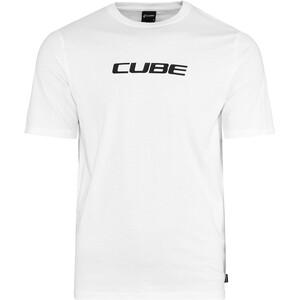 Cube Organic Koszulka Classic Logo Mężczyźni, biały biały