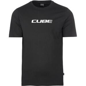 Cube Organic Koszulka Classic Logo Mężczyźni, czarny czarny