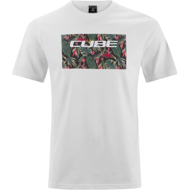 Cube Organic T-Shirt Logo 3.0 Herren white