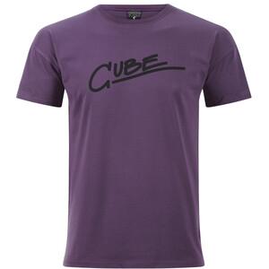 Cube Organic Edge T-Shirt Herren plum plum
