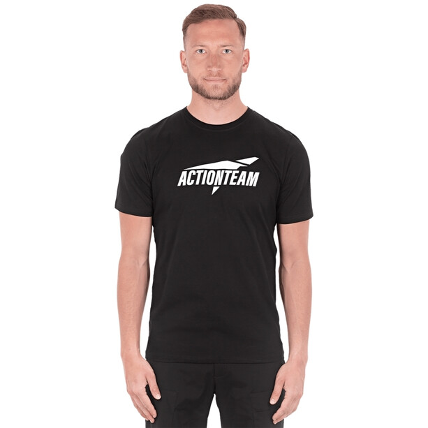 Cube Organic T-Shirt Actionteam Herren black