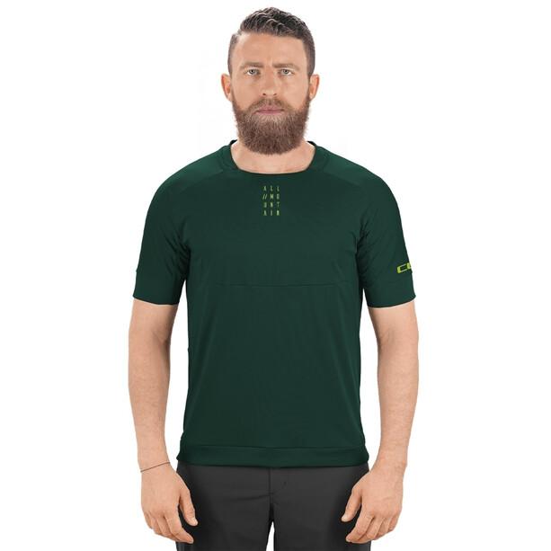 Cube AM Round Neck Jersey shortsleeve Herr dark green