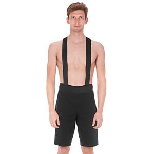 Cube Blackline Baggy Bib Shorts Men black black