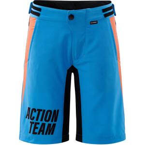 Cube Junior Baggy Shorts mit Innenhose Kinder blue´n´orange blue´n´orange
