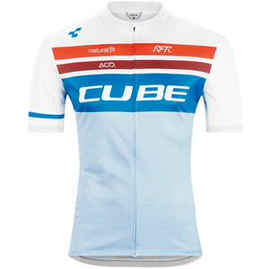 Cube Teamline Competition Kurzarm Trikot Herren white´n´blue´n´red white´n´blue´n´red