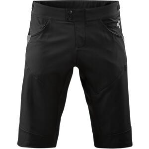 Cube Tour Baggy Shorts mit Innenhose Herren schwarz schwarz