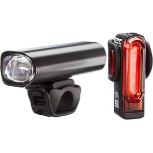 Lezyne Lite Pro 115/Strip Drive LED Beleuchtungsset schwarz schwarz