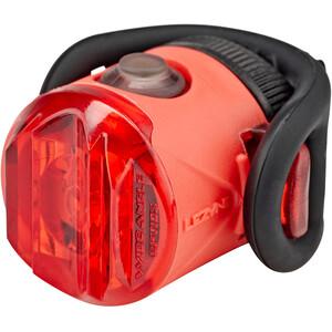 Lezyne Femto Drive LED bakljus röd/svart röd/svart