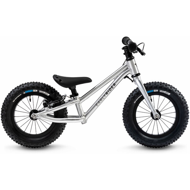 """Early Rider Big Foot Draisienne 12"""" Enfant, argent"""