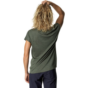 Houdini Activist Kurzarm T-Shirt Damen willow green willow green