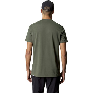 Houdini Big Up Kurzarm T-Shirt Herren utopian green utopian green