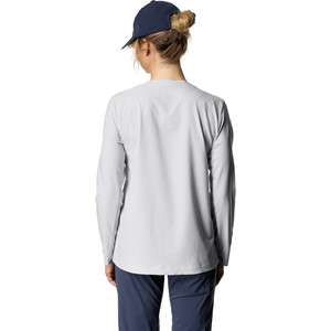 Houdini Cover Rundhals-Langarmshirt Damen ground grey ground grey