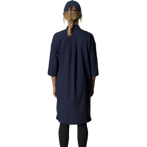 Houdini Route Shirt Kleid Damen blue illusion blue illusion