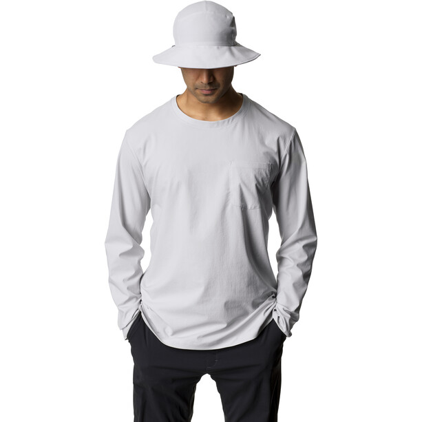 Houdini Cover Crew Shirt Herr grå