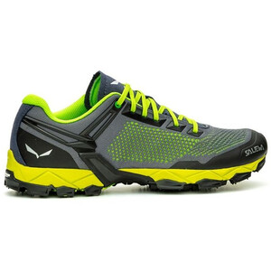 SALEWA Lite Train K Schuhe Herren fluo green/blue danube fluo green/blue danube