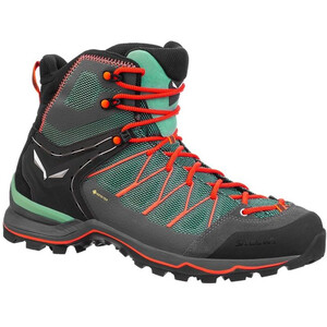 SALEWA MTN Trainer Lite GTX Mid-Cut Schuhe Damen feld green/fluo coral feld green/fluo coral