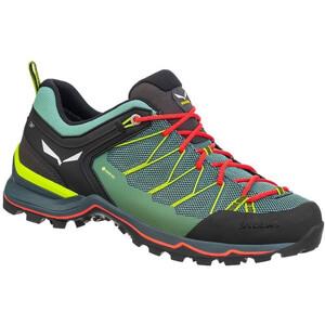 SALEWA MTN Trainer Lite GTX Schuhe Damen feld green/fluo coral feld green/fluo coral
