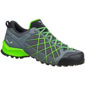 SALEWA Wildfire Schuhe Herren flintstone/fluo green flintstone/fluo green