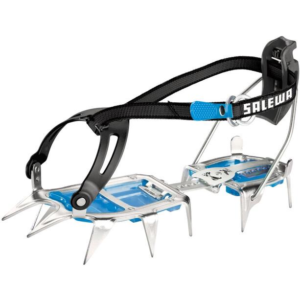 SALEWA Alpinist Alu Combi Crampons steel/blue