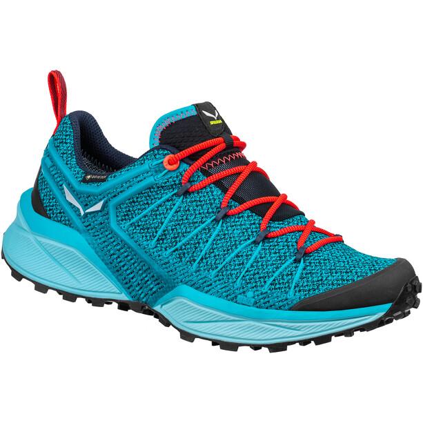 SALEWA Dropline GTX Shoes Dam ocean/canal blue