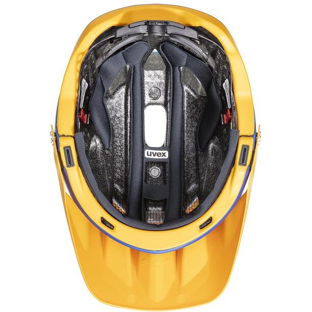 UVEX Quatro Integrale Helm blue energy mat