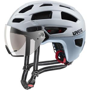 UVEX Finale Visor Helmet silver mat silver mat