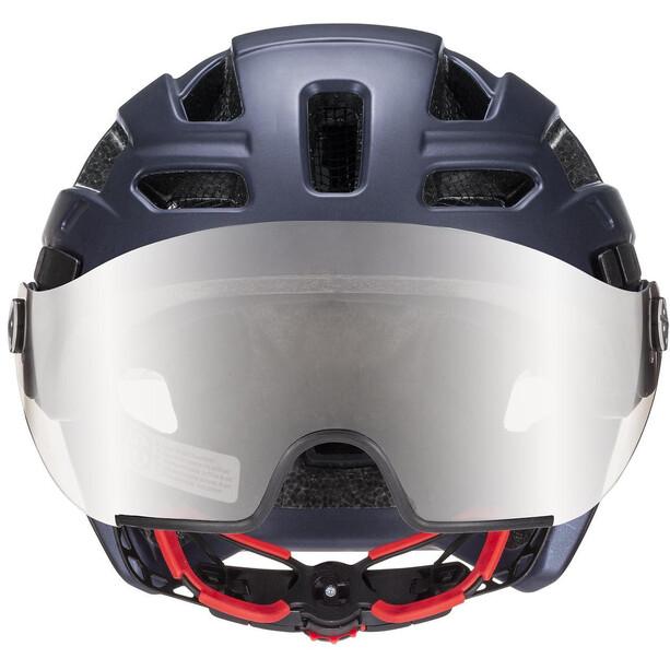 UVEX Finale Visor Helmet dark blue mat