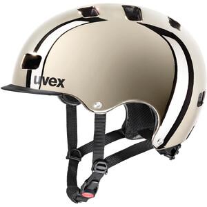 UVEX hlmt 5 Bike Pro Chrome Helm chrome chrome
