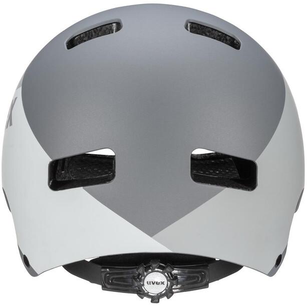 UVEX hlmt 5 Bike Pro Helm grey mat