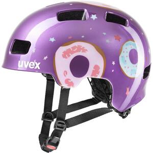 UVEX hlmt 4 Helm Kinder purple purple