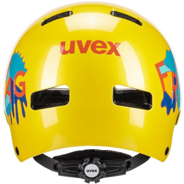 UVEX Kid 3 Helmet Barn yellow