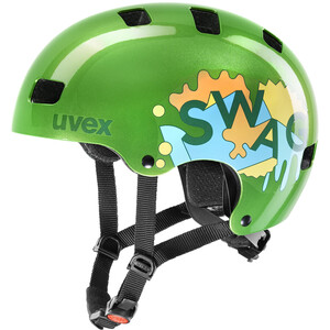 UVEX Kid 3 Helmet Barn green green