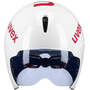UVEX Race 8 Helm white red