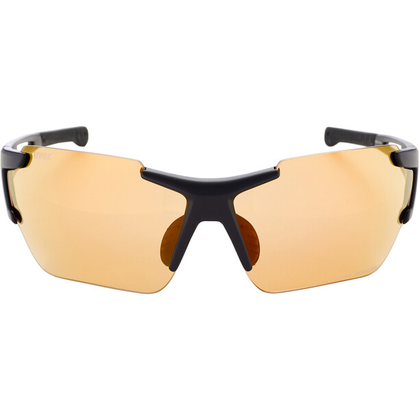 UVEX Sportstyle 803 Race Colorvision Variomatic Brille black mat/litemirror red