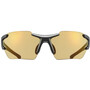 UVEX Sportstyle 803 Race Colorvision Variomatic Brille Small black mat/litemirror red