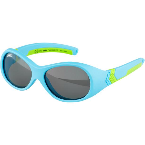 UVEX Sportstyle 510 Brille Kinder blau/grün