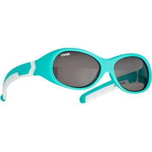 UVEX Sportstyle 510 Glasses Kids, turquoise/blanc turquoise/blanc