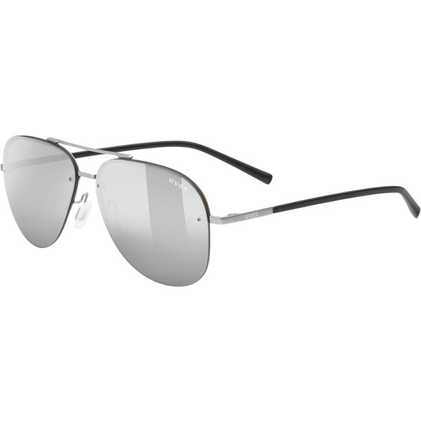 UVEX LGL 40 Brille silver mat/mirror silver