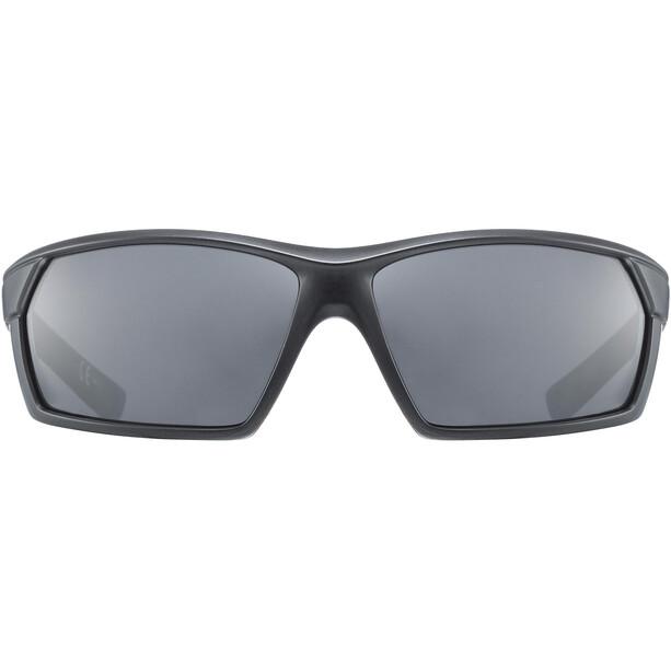 UVEX Sportstyle 225 Brille black mat/litemirror silver