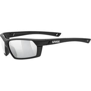 UVEX Sportstyle 225 Sportbrille black mat/litemirror silver black mat/litemirror silver