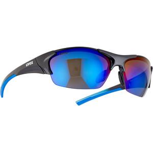 UVEX Blaze III Lunettes, noir/bleu noir/bleu