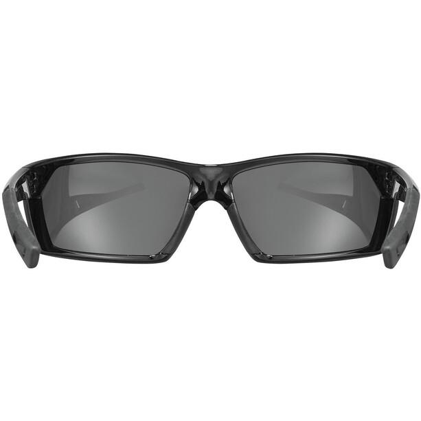 UVEX sportstyle 225 Pola Sportbrille black/litemirror silver