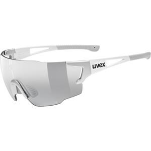 UVEX sportstyle 804 V Glasses, silver white/smoke silver white/smoke