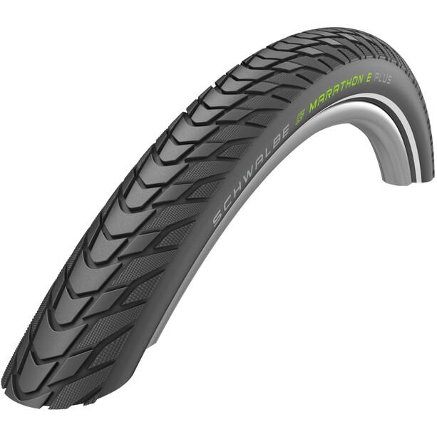 "SCHWALBE Marathon E-Plus Performance Clincher Tyre 28x1.40"" TwinSkin Smart DualGuard Addix E reflex"