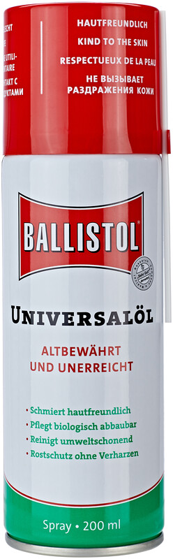 Ballistol Spray 200 ml  2020 Rengjøringskit