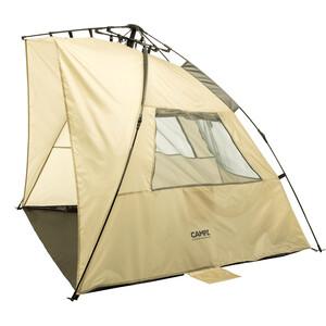 CAMPZ OT UV 50+ Sun Shelter Trapezium, beige/gris beige/gris