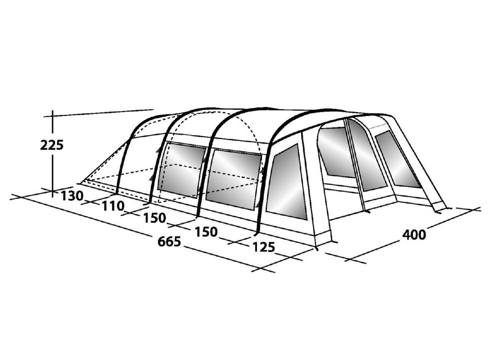 Outwell Hornet XL  campzde