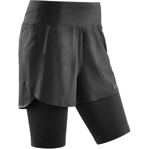 cep 3.0 Run 2in1 Shorts Damen black/black black/black