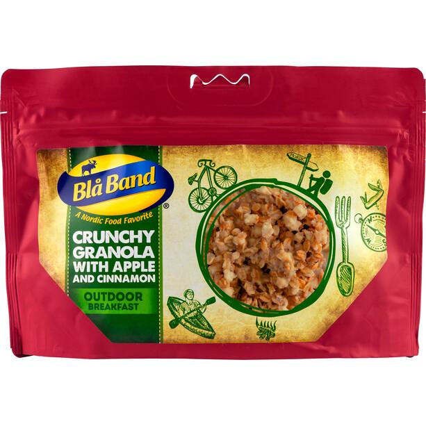 Blå Band Outdoor Frühstück Knuspriges Müsli mit Apfel und Zimt